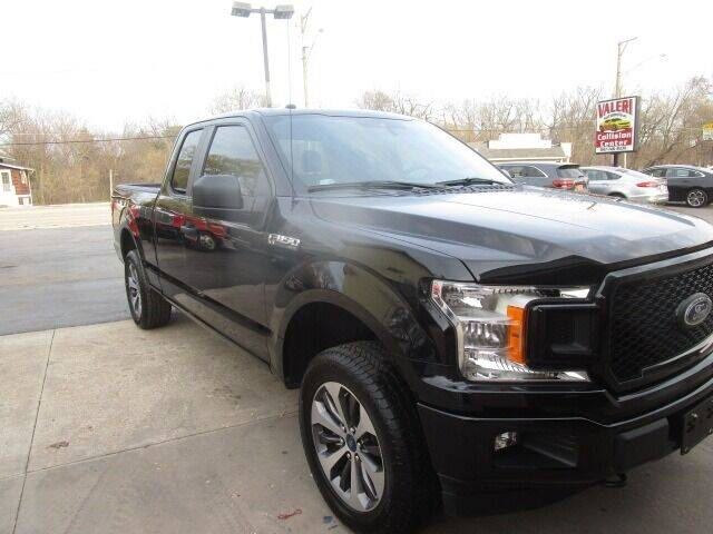 2019 Ford F-150 for sale at VALERI AUTOMOTIVE in Winthrop Harbor IL