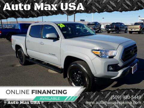 2020 Toyota Tacoma for sale at Auto Max USA in Yakima WA