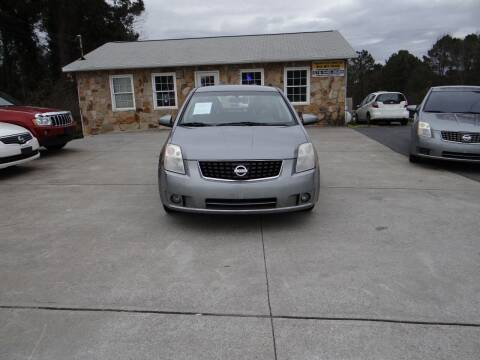 2008 Nissan Sentra for sale at Flywheel Auto Sales Inc in Woodstock GA