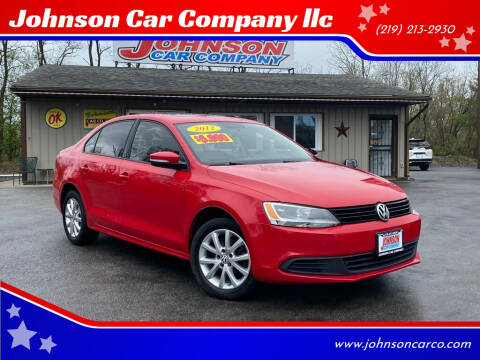 2012 Volkswagen Jetta for sale at Johnson Car Company llc in Crown Point IN
