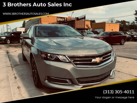 2018 Chevrolet Impala for sale at 3 Brothers Auto Sales Inc in Detroit MI