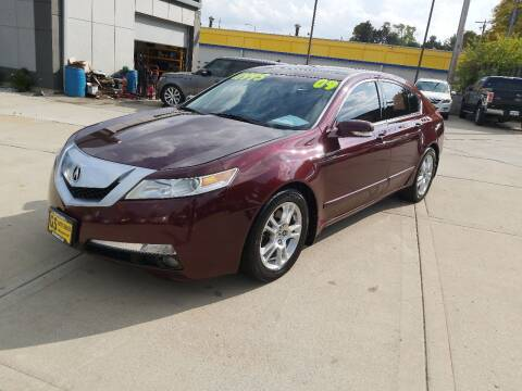 2009 Acura TL for sale at GS AUTO SALES INC in Milwaukee WI