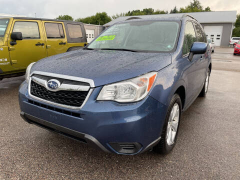 2014 Subaru Forester for sale at Blake Hollenbeck Auto Sales in Greenville MI