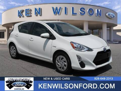 2016 Toyota Prius c for sale at Ken Wilson Ford in Canton NC
