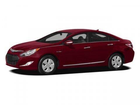 2012 Hyundai Sonata Hybrid for sale at J T Auto Group in Sanford NC