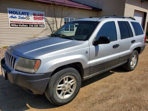 2004 Jeep Grand Cherokee for sale at Hollatz Auto Sales in Parkers Prairie MN