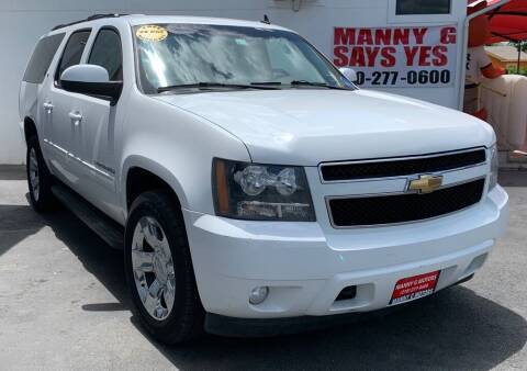 2010 Chevrolet Suburban for sale at Manny G Motors in San Antonio TX