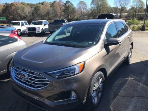2019 Ford Edge for sale at BILLY HOWELL FORD LINCOLN in Cumming GA