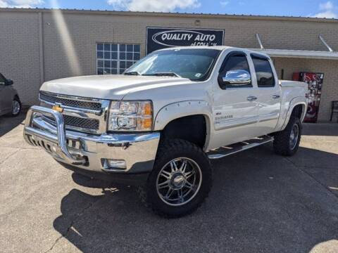 2012 Chevrolet Silverado 1500 for sale at Quality Auto of Collins in Collins MS