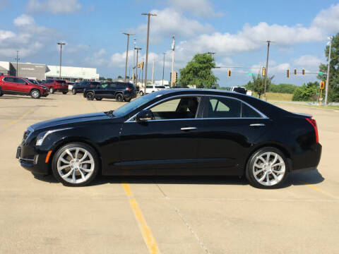 2016 Cadillac ATS for sale at LANDMARK OF TAYLORVILLE in Taylorville IL