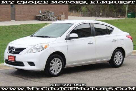 2012 Nissan Versa for sale at My Choice Motors Elmhurst in Elmhurst IL