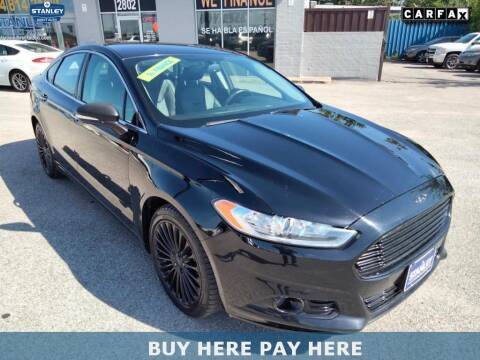 2016 Ford Fusion for sale at Stanley Chrysler Dodge Jeep Ram Gatesville Buy Here Pay Here in Gatesville TX