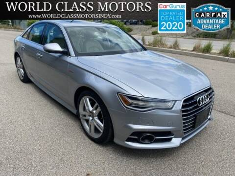 2016 Audi A6 for sale at World Class Motors LLC in Noblesville IN