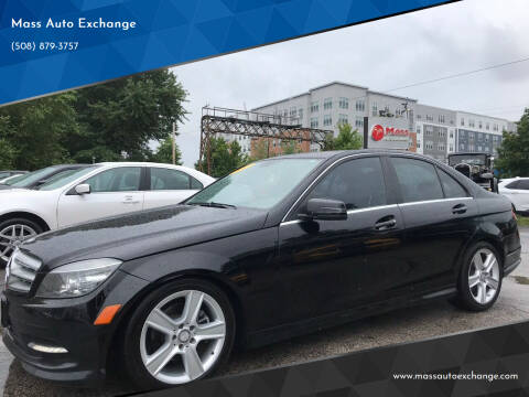 2011 Mercedes-Benz C-Class for sale at Mass Auto Exchange in Framingham MA
