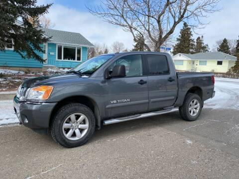 2015 Nissan Titan for sale at Truck Buyers in Magrath AB
