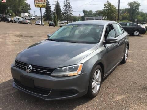 2013 Volkswagen Jetta for sale at Sparkle Auto Sales in Maplewood MN