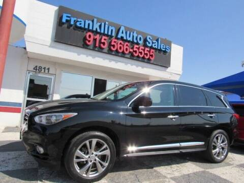 2013 Infiniti JX35 for sale at Franklin Auto Sales in El Paso TX