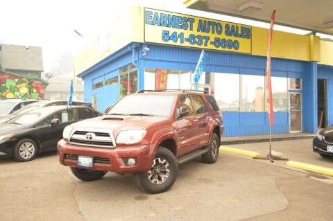 2008 Toyota 4Runner for sale at Earnest Auto Sales in Roseburg OR