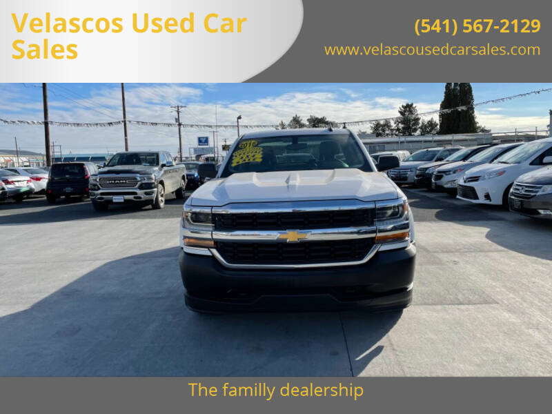 2016 Chevrolet Silverado 1500 for sale at Velascos Used Car Sales in Hermiston OR