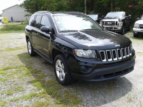 2015 Jeep Compass for sale at Quest Auto Outlet in Chichester NH