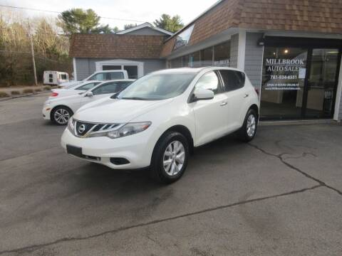 2011 Nissan Murano for sale at Millbrook Auto Sales in Duxbury MA