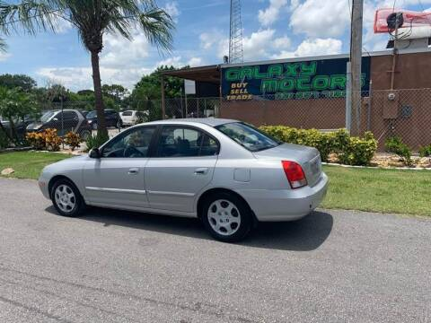 2003 Hyundai Elantra for sale at Galaxy Motors Inc in Melbourne FL