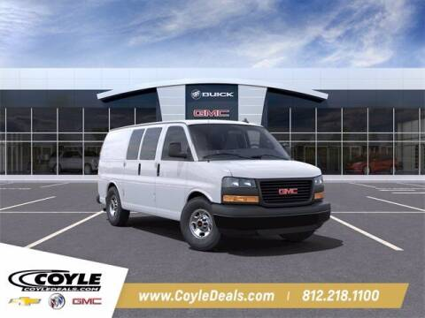 2021 GMC Savana Cargo for sale at COYLE GM - COYLE NISSAN - New Inventory in Clarksville IN