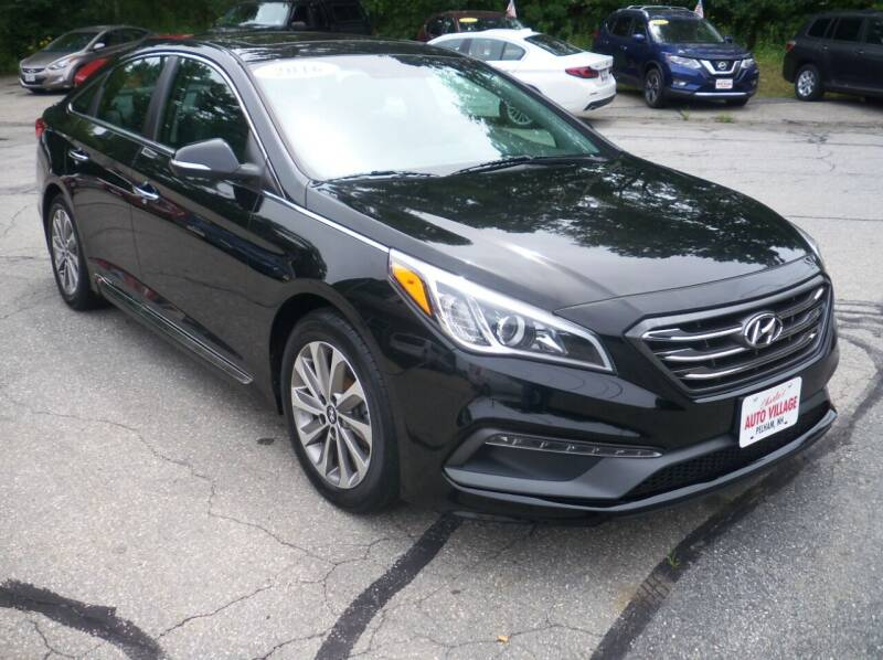 2016 Hyundai Sonata for sale at Charlies Auto Village in Pelham NH