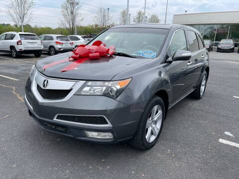 2011 Acura MDX for sale at Charlotte Auto Group, Inc in Monroe NC