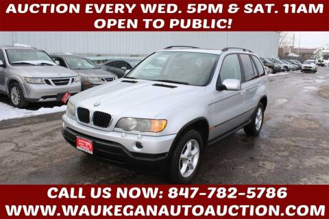 2002 BMW X5 for sale at Waukegan Auto Auction in Waukegan IL