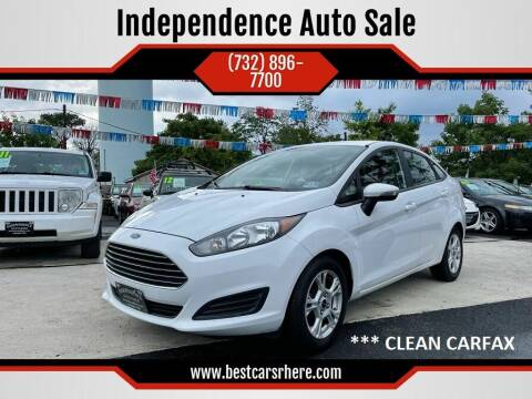 2014 Ford Fiesta for sale at Independence Auto Sale in Bordentown NJ