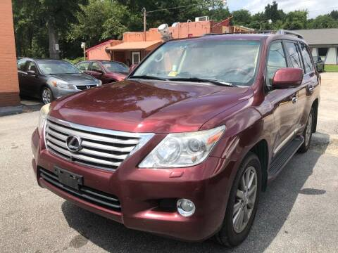 2010 Lexus LX 570 for sale at RVA Automotive Group in North Chesterfield VA