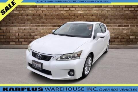 2012 Lexus CT 200h for sale at Karplus Warehouse in Pacoima CA
