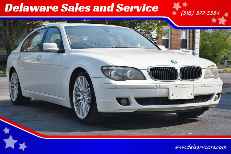 2008 BMW 7 Series for sale at Delaware Sales and Service in Albany NY