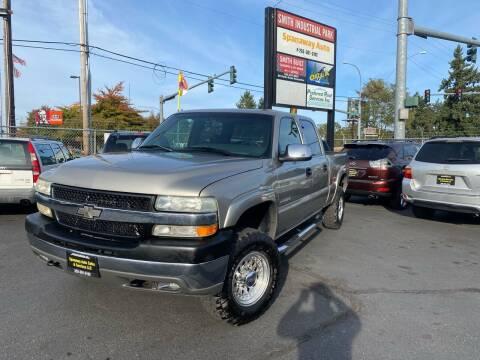 2002 Chevrolet Silverado 2500HD for sale at Tacoma Autos LLC in Tacoma WA