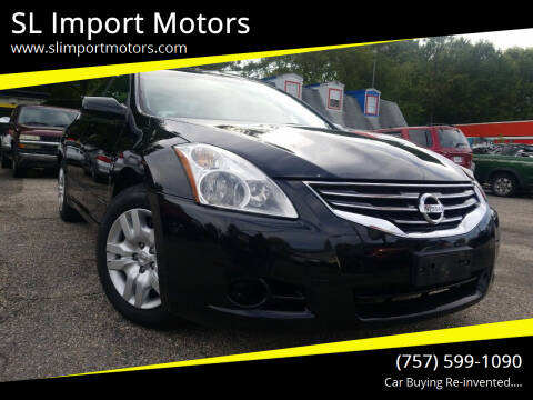 2012 Nissan Altima for sale at SL Import Motors in Newport News VA