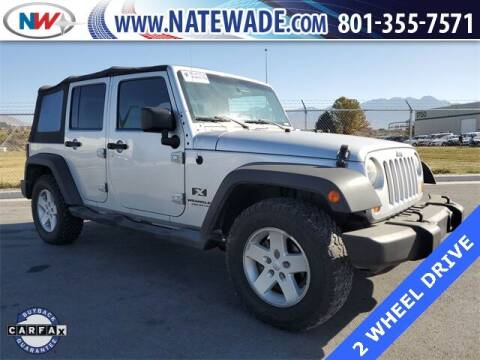 2007 Jeep Wrangler Unlimited for sale at NATE WADE SUBARU in Salt Lake City UT