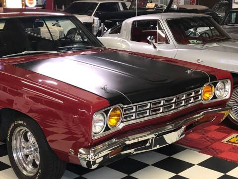 1968 Plymouth Satellite for sale at Berliner Classic Motorcars Inc in Dania Beach FL