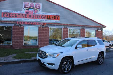 2018 GMC Acadia for sale at EXECUTIVE AUTO GALLERY INC in Walnutport PA