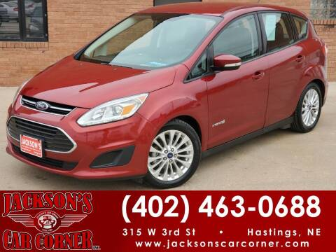 2017 Ford C-MAX Hybrid for sale at Jacksons Car Corner Inc in Hastings NE