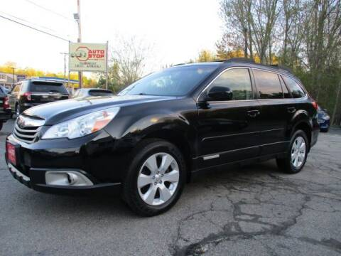 2011 Subaru Outback for sale at AUTO STOP INC. in Pelham NH