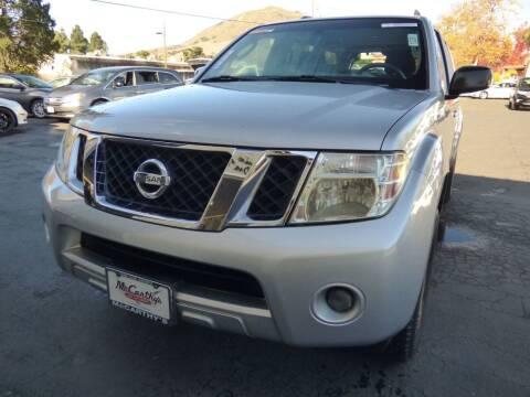 2008 Nissan Pathfinder for sale at McCarthy Wholesale in San Luis Obispo CA