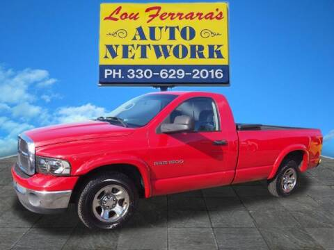 2005 Dodge Ram Pickup 1500 for sale at Lou Ferraras Auto Network in Youngstown OH