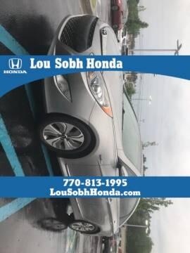 2014 Hyundai Sonata Hybrid for sale at Lou Sobh Honda in Cumming GA