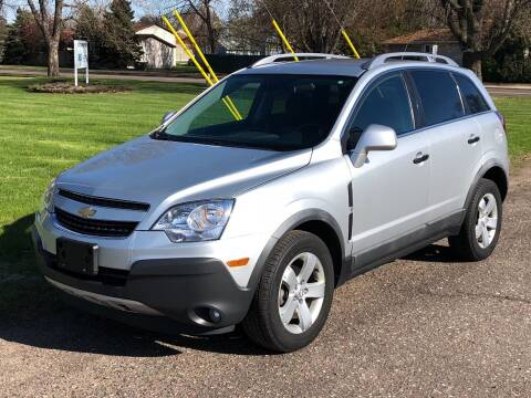 2012 Chevrolet Captiva Sport for sale at Affordable Auto Sales in Cambridge MN