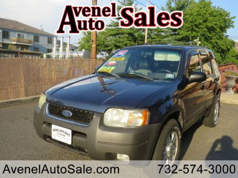 2003 Ford Escape for sale at Avenel Auto Sales in Avenel NJ