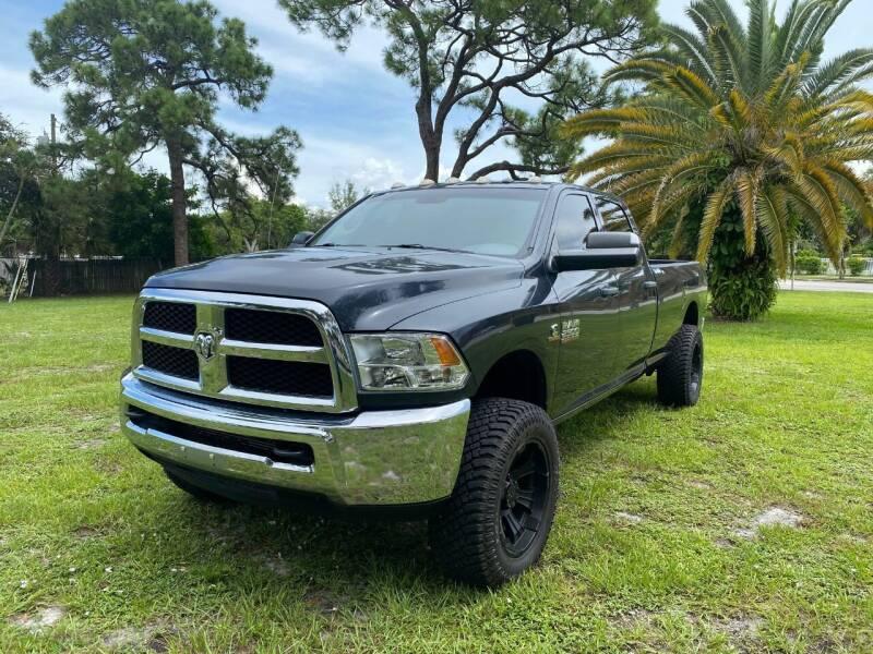 2016 RAM Ram Pickup 2500 4x4 SLT 4dr Crew Cab 8 ft. LB Pickup - Fort Lauderdale FL