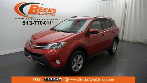 2014 Toyota RAV4 for sale at Becks Auto Group in Mason OH