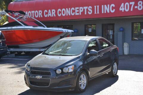 2015 Chevrolet Sonic for sale at Motor Car Concepts II - Apopka Location in Apopka FL