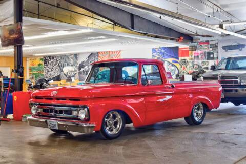 1962 Ford F-100 for sale at Hooked On Classics in Watertown MN